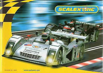 Scalextric 2001 Catalogue - Edition 42