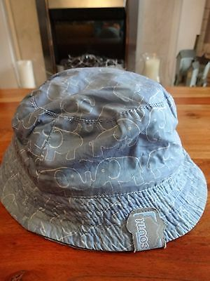 Boys blue multi way summer hat from South Africa