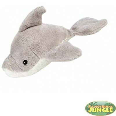 """CUTE ANIMAL PLUSH TOY ITSY BITSIES 3"""" DOLPHIN kids childs toy"""