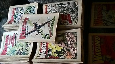 222 x WARLORD comics 1974- 1979 good condition- relisted due to no contact