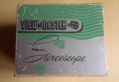 ViewMaster Model C Boxed Viewer Black Bakelite Made in USA