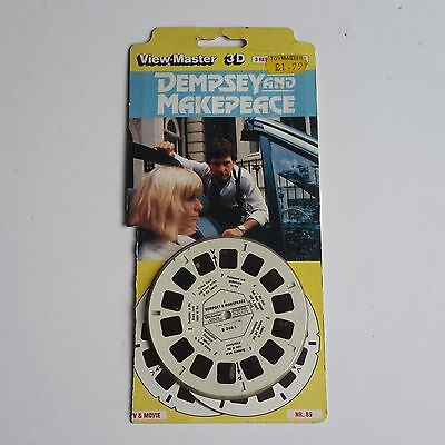 Viewmaster three reel set 3d  DEMPSEY AND MAKEPEACE TV SERIES