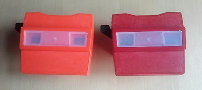 2 ViewMaster Viewer Clones by Stereobox made in GDR