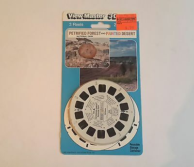 Viewmaster three reel carded set 3d Petrified Forest and Painted Desert Sealed
