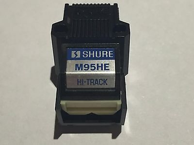 Shure M95HE Cartridge and Generic Stylus for Turntable Record Player