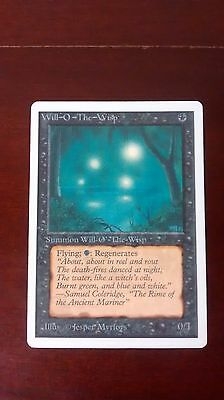 MTG Will-O-The-Wisp, Unlimited, VG