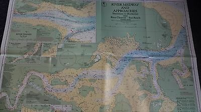 River Medway  Admiralty Nautical Chart