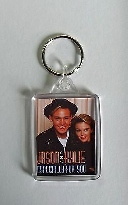 Jason Donovan Kylie Minogue Especially For You small Keyring New - 80's inspired