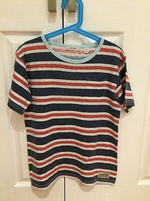 Country Road Boys Size 10 Striped T-Shirt