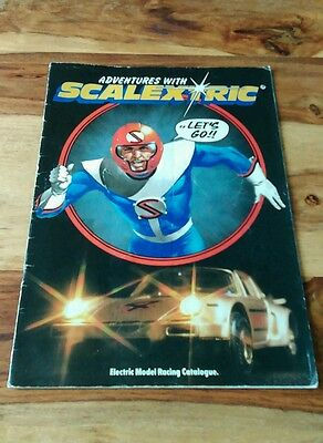 Scalextric 1981 Catalogue with Comic Strip Ian Kennedy Art brochure 22nd edition