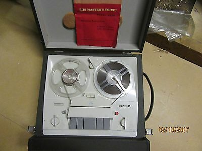 His Masters Voice 4 track tape recorder