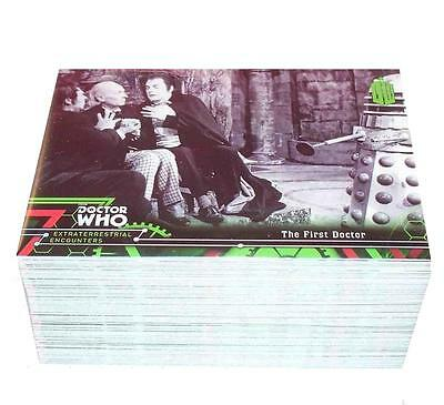 Doctor Who Extraterrestrial Complete 100 Base Card Set - TOPPS 2016