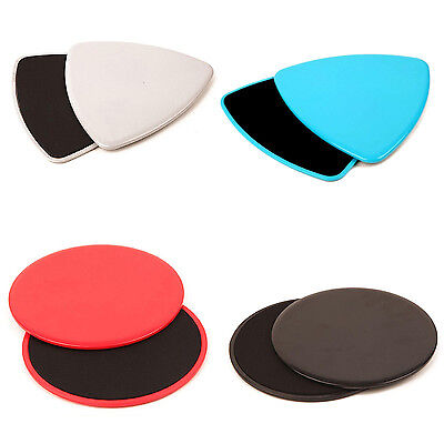 Fitness Gliders Gym Slider Workout Discs Core Ab Exercise Training Equip C1C2