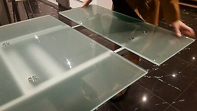 Dining table Glass and Extendable fit up to 12. Adriatic.