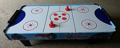 Chad Valley air hockey game table 3ft