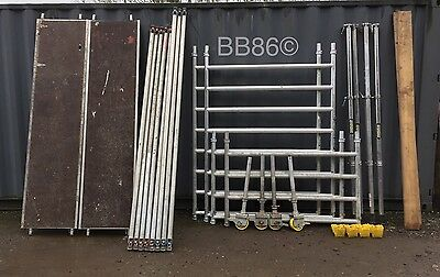 4.2m Working Height Boss Youngman Clima Aluminium Scaffold Tower Fully Complete