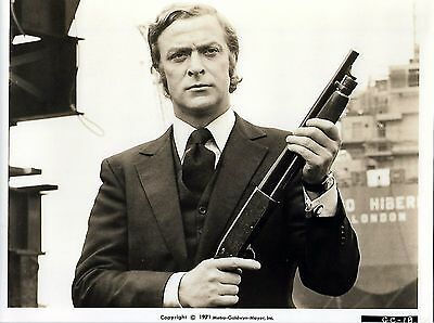 Get Carter - Michael Caine - Rare 1971 American Black And White Movie Still