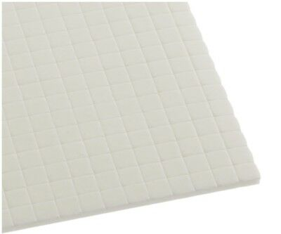 Hi-Tack Double Sided White Double Sided Adhesive 3D Foam Squares Pads 3mm Thick