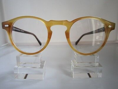 Oliver Peoples  O' Malley Ivy League Great Gatsby Vintage Eyeglasses Blonde
