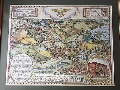 Map Thame OXFORDSHIRE