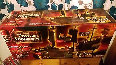 Pirates Of The Caribbean  Ultimate Black Pearl Pirate Ship Playset