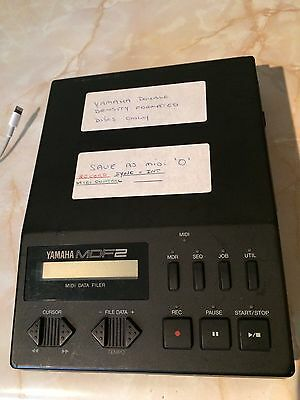 Yamaha MDF2 Midi Data Filer / Recorder
