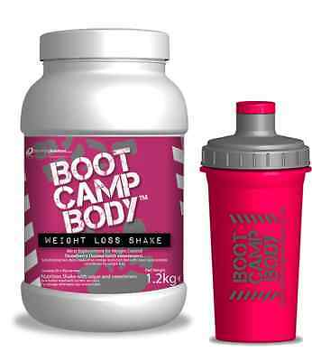 Diet Protein Strawberry Weight Loss Shake VLCD Meal Replacement powder & Shaker