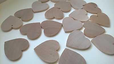 Over 200 Pieces Solid wood Craft Shapes Job Lot