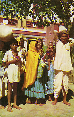 INDE / INDIA - Une Famille du RAJASTHAN - A Rajasthan Family