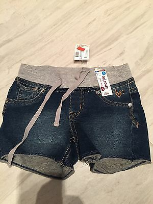 Nwt Justice Jeans  Trendy Shorts Size 5 reg Soft