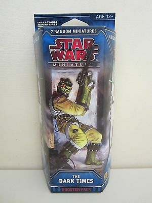 STAR WARS Miniatures THE DARK TIMES booster pack NEW and SEALED