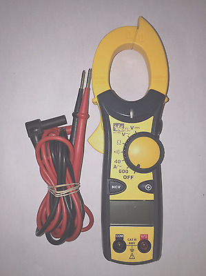 IDEAL 61-744 Electrical Multimeter 600 Amp Clamp-Pro Clamp Meter **must see**