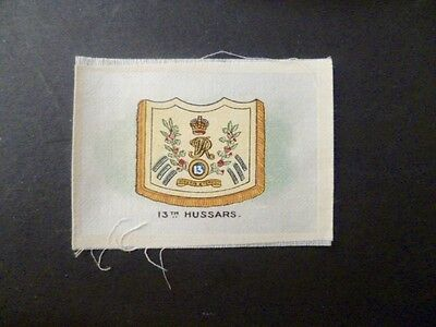 "PHILLIPS SILKS WW1 ""REGIMENTAL COLOURS AND CRESTS"" 13th HUSSARS."