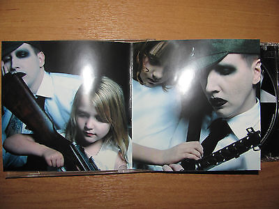 marilyn manson the golden age of grotesque & holywood  2 cd rare