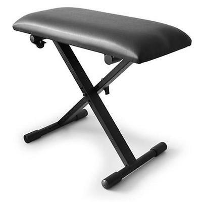 Adjustable Piano/keyboard Stool Padded Seat Chair New
