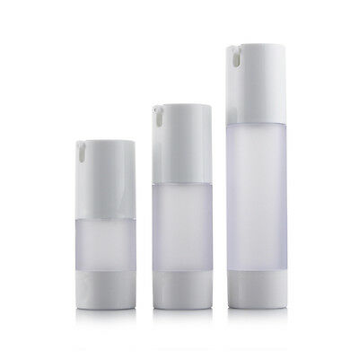 15ml 30ml 50ml Empty Airless Pump Bottles Vacuum Emulsion Bottles Travel Bottle
