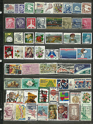 United States Collection Miscellaneous Very Fine & Fine Used Stamps Set 2