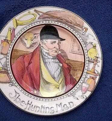 ROYAL DOULTON The Hunting Man - Professional Series Plate D6282