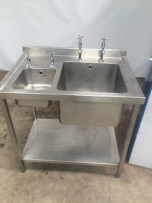 Single Bowl Sink Complete With Hand Wash £275 Plus Vat