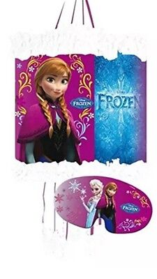 Disney Frozen Pinata And Mask Childrens Birthday Party Game