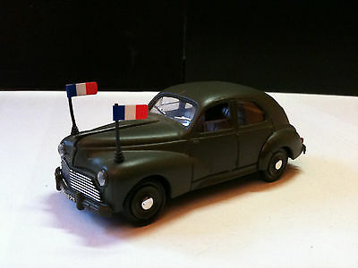 Peugeot 203, Solido Militaire 1/43, Sans Jeu Made In France
