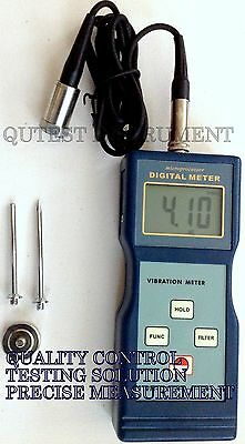 New Digital Vibration Meter Tester for Velocity Acceleration Displacement