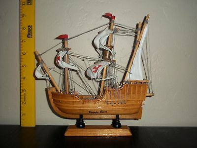 Puerto Rico souvenir wooden Spanish ship