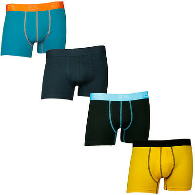 Mysocks Mens Plain Coloured Boxer Briefs