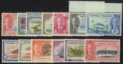 Cayman Is SG 135-47/CW 21-33 1950 set of 13