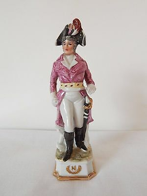 Porcelain/China.Napoleonic soldier Figure,,unmarked