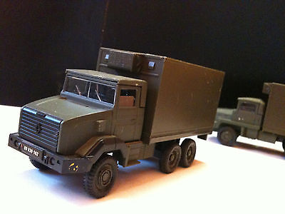 Camion Renault 180 Gbc 6X6 Shelter, Solido Militaire, Sans Jeu Made In France