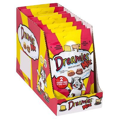 Dreamies Beef & Cheese Mix 60g (Pack of 8)
