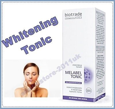 Biotrade Melabel Whitening Tonic for All Skin Types Peeling Effect 60ml