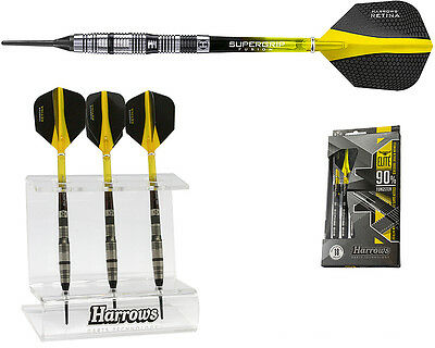 Darts HARROWS Elite Softdarts + Dartständer - Dart Set